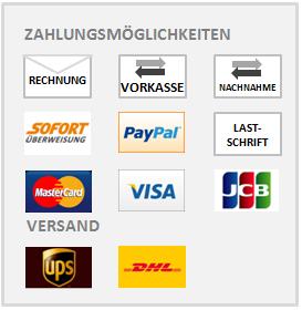 Zahlungsmöglichkeiten DefShop