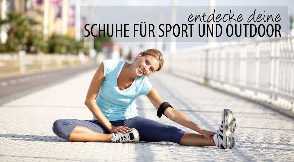Schuhe für Outdoor und Sport ©goodluz – Fotolia