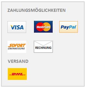 Zahlungsmöglichkeiten Modomoto