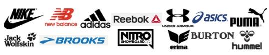 Sportmarken Logos