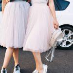 Tüllrock kombinieren Alltag Hochzeit